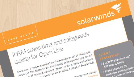 SolarWinds IPAM Case Study