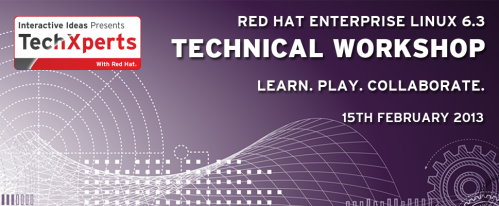 TechXperts - Red Hat Enterprise Linux 6.3 Technical Workshop